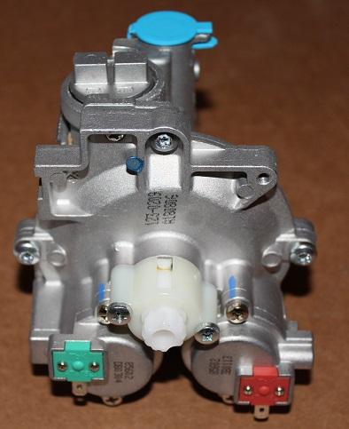 Газовый узел с клапанами к газовым колонкам BOSCH